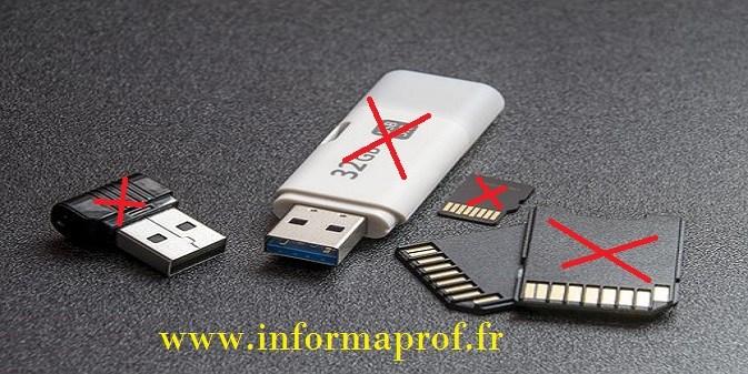 réparer une clé USB endommagée