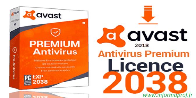 Télécharger Avast premier 2018