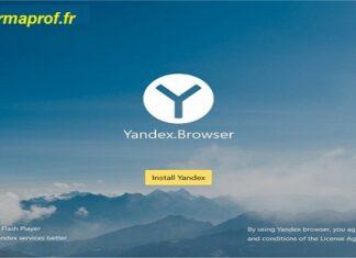 Le navigateur Yandex browser