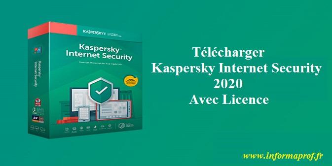 Télécharger KasperskyInternetSecurity2020 Avec Licence