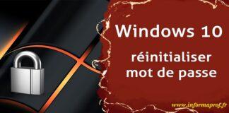 réinitialiser le mot de passe Windows 10 avec PassMoz LabWin