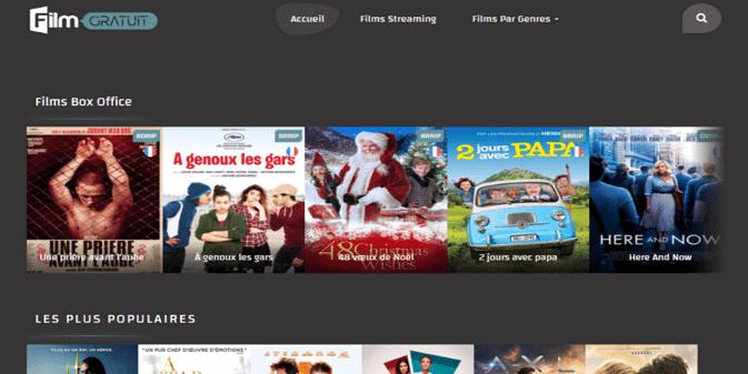 Quel est le Meilleur site de film gratuit Streaming fiable