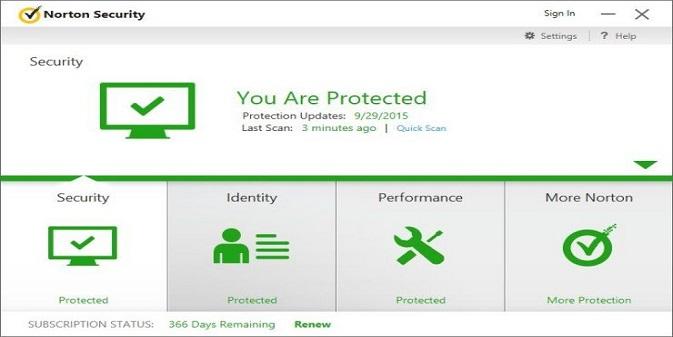Norton 360 Deluxe antivirus
