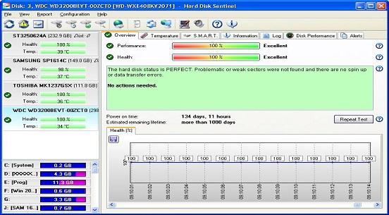 hard disk sentinel pro