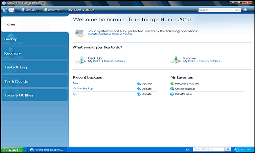 Télécharger Acronis True Image free
