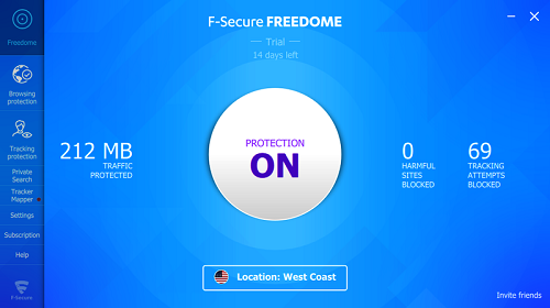Télécharger F Secure Freedome VPN