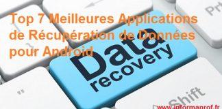 applications de récupération