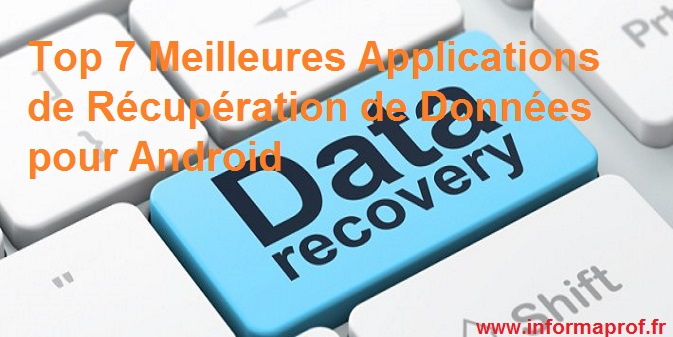applications de récupération