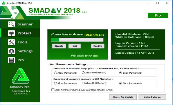 Télécharger Smadav Pro 2019