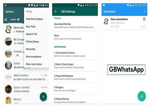 télécharger GBWhatsApp apk 2020
