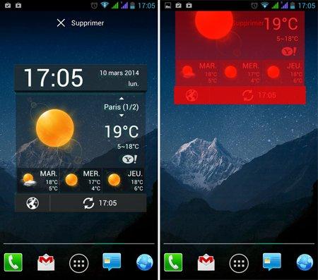 smartphone ou Android fonctionne lentement