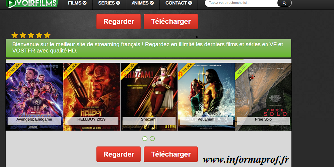meilleurs sites de streaming gratuits sans inscription
