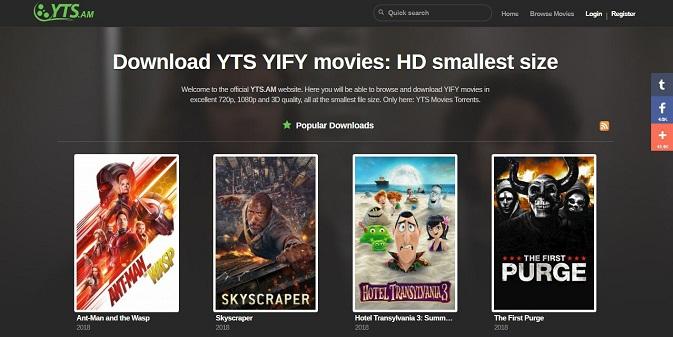 Yify Meilleur Site Pour Télécharger des films