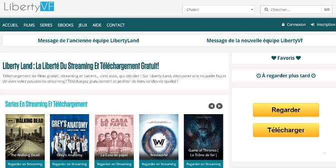 Liberty VF Téléchargement des films en Streaming